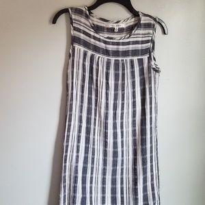 Max Studio Baby Doll Stripe Sleeveless Dress